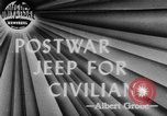 Image of post war jeep Toledo Ohio USA, 1944, second 1 stock footage video 65675046772