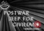 Image of post war jeep Toledo Ohio USA, 1944, second 2 stock footage video 65675046772