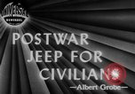 Image of post war jeep Toledo Ohio USA, 1944, second 3 stock footage video 65675046772