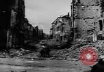 Image of damaged buildings Berlin Germany, 1945, second 6 stock footage video 65675046779