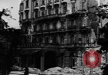 Image of damaged buildings Berlin Germany, 1945, second 8 stock footage video 65675046779
