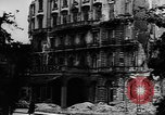 Image of damaged buildings Berlin Germany, 1945, second 9 stock footage video 65675046779