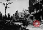 Image of damaged buildings Berlin Germany, 1945, second 11 stock footage video 65675046779