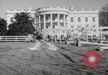 Image of Executive Mansion Washington DC USA, 1950, second 5 stock footage video 65675046781