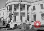 Image of Executive Mansion Washington DC USA, 1950, second 10 stock footage video 65675046781