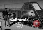 Image of Rocket propelled sled California United States USA, 1950, second 1 stock footage video 65675046782