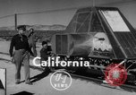 Image of Rocket propelled sled California United States USA, 1950, second 2 stock footage video 65675046782