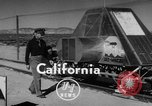 Image of Rocket propelled sled California United States USA, 1950, second 3 stock footage video 65675046782