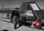 Image of Rocket propelled sled California United States USA, 1950, second 4 stock footage video 65675046782