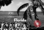 Image of water boarding Florida United States USA, 1950, second 1 stock footage video 65675046784