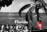 Image of water boarding Florida United States USA, 1950, second 2 stock footage video 65675046784