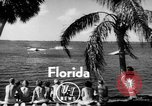 Image of water boarding Florida United States USA, 1950, second 3 stock footage video 65675046784