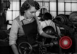 Image of defense factory Muncie Indiana USA, 1942, second 7 stock footage video 65675046814