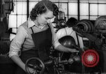 Image of defense factory Muncie Indiana USA, 1942, second 10 stock footage video 65675046814