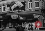 Image of war stamp sale Muncie Indiana USA, 1942, second 2 stock footage video 65675046819