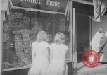 Image of music store New York United States USA, 1945, second 1 stock footage video 65675046820