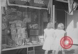 Image of music store New York United States USA, 1945, second 2 stock footage video 65675046820