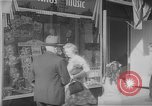 Image of music store New York United States USA, 1945, second 5 stock footage video 65675046820