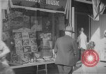 Image of music store New York United States USA, 1945, second 6 stock footage video 65675046820