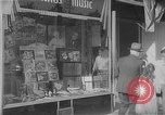 Image of music store New York United States USA, 1945, second 7 stock footage video 65675046820