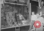 Image of music store New York United States USA, 1945, second 8 stock footage video 65675046820