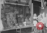Image of music store New York United States USA, 1945, second 10 stock footage video 65675046820