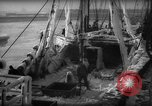 Image of weighing catch of fish Gloucester Massachusetts USA, 1935, second 10 stock footage video 65675046871
