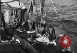 Image of fishing boat at work Atlantic Ocean Massachusetts United States USA, 1935, second 3 stock footage video 65675046885