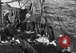 Image of fishing boat at work Atlantic Ocean Massachusetts United States USA, 1935, second 8 stock footage video 65675046885