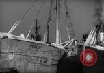 Image of Commercial fishing trawler Boston Massachusetts USA, 1935, second 8 stock footage video 65675046891