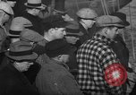 Image of sullen crowd views Canadian fishing boat Boston Massachusetts USA, 1935, second 2 stock footage video 65675046899