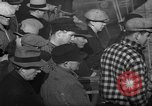 Image of sullen crowd views Canadian fishing boat Boston Massachusetts USA, 1935, second 6 stock footage video 65675046899