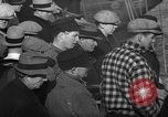 Image of sullen crowd views Canadian fishing boat Boston Massachusetts USA, 1935, second 7 stock footage video 65675046899
