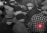 Image of sullen crowd views Canadian fishing boat Boston Massachusetts USA, 1935, second 8 stock footage video 65675046899