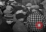 Image of sullen crowd views Canadian fishing boat Boston Massachusetts USA, 1935, second 9 stock footage video 65675046899