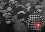 Image of sullen crowd views Canadian fishing boat Boston Massachusetts USA, 1935, second 11 stock footage video 65675046899