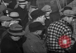 Image of sullen crowd views Canadian fishing boat Boston Massachusetts USA, 1935, second 12 stock footage video 65675046899