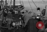 Image of crowd watches Canadian boat Boston Massachusetts USA, 1935, second 1 stock footage video 65675046901