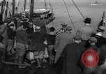 Image of crowd watches Canadian boat Boston Massachusetts USA, 1935, second 2 stock footage video 65675046901