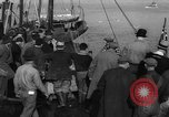 Image of crowd watches Canadian boat Boston Massachusetts USA, 1935, second 3 stock footage video 65675046901