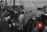 Image of crowd watches Canadian boat Boston Massachusetts USA, 1935, second 6 stock footage video 65675046901
