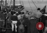 Image of crowd watches Canadian boat Boston Massachusetts USA, 1935, second 8 stock footage video 65675046901