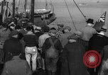 Image of crowd watches Canadian boat Boston Massachusetts USA, 1935, second 10 stock footage video 65675046901