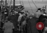 Image of crowd watches Canadian boat Boston Massachusetts USA, 1935, second 11 stock footage video 65675046901