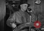 Image of Fishing boat Captain reports catch on radio Boston Massachusetts USA, 1935, second 2 stock footage video 65675046907