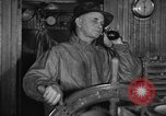 Image of Fishing boat Captain reports catch on radio Boston Massachusetts USA, 1935, second 4 stock footage video 65675046907