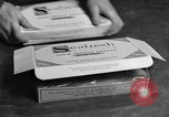 Image of frozen fish fillet packets Boston Massachusetts USA, 1935, second 7 stock footage video 65675046916
