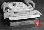Image of frozen fish fillet packets Boston Massachusetts USA, 1935, second 8 stock footage video 65675046916