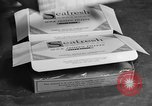 Image of frozen fish fillet packets Boston Massachusetts USA, 1935, second 9 stock footage video 65675046916