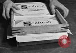 Image of frozen fish fillet packets Boston Massachusetts USA, 1935, second 10 stock footage video 65675046916